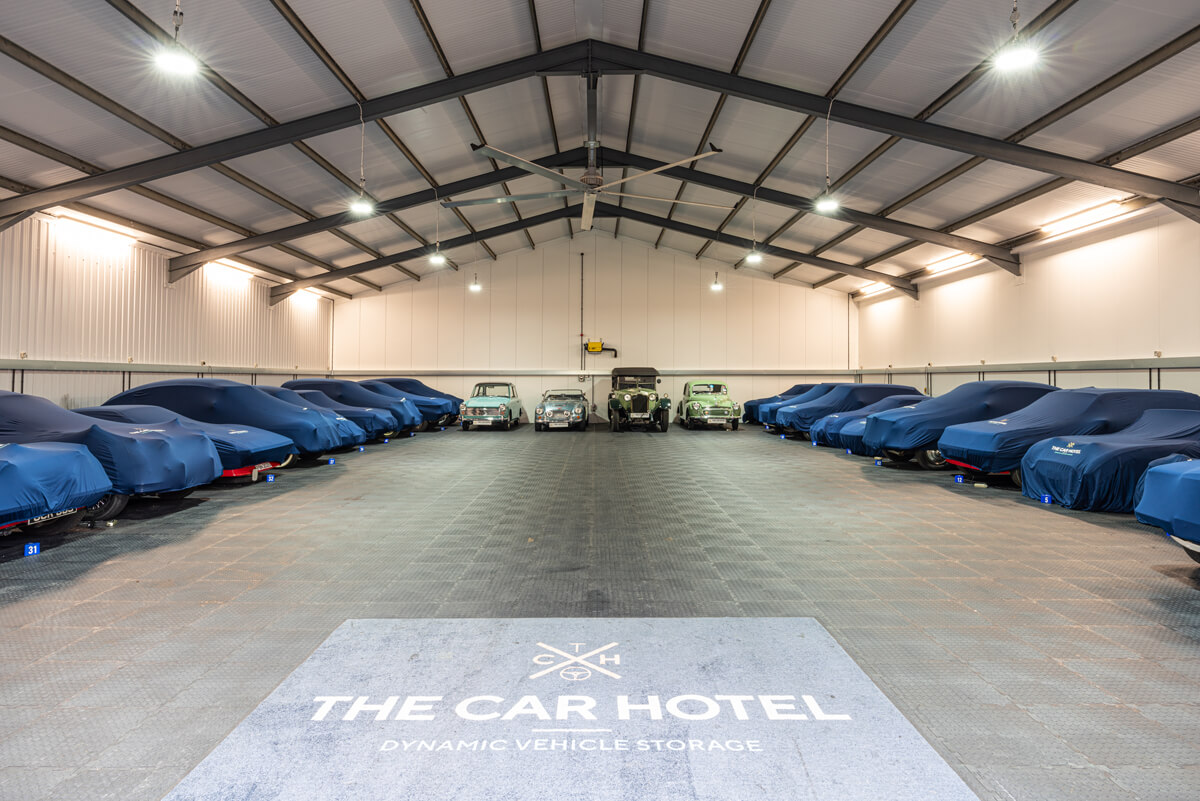 One of our storage barns at The Car Hotel